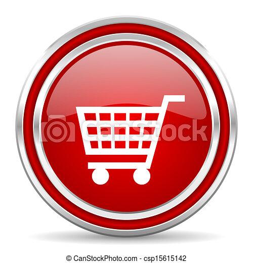 shopping cart icon - csp15615142