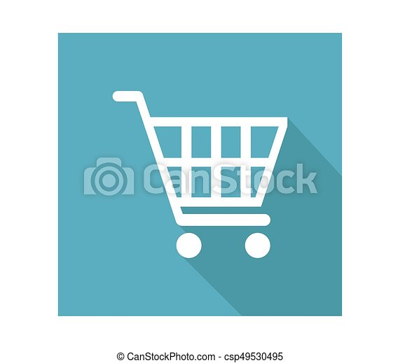 shopping cart icon - csp49530495