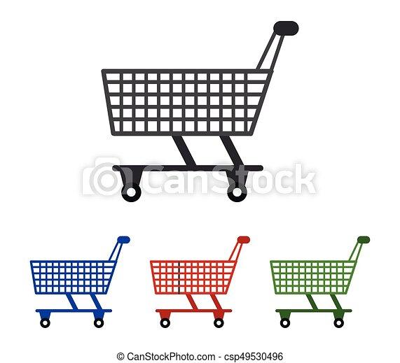 shopping cart icon - csp49530496