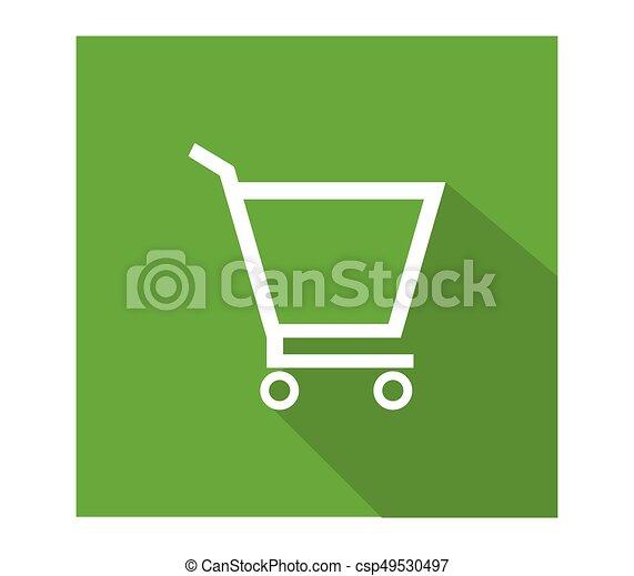 shopping cart icon - csp49530497