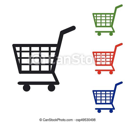 shopping cart icon - csp49530498