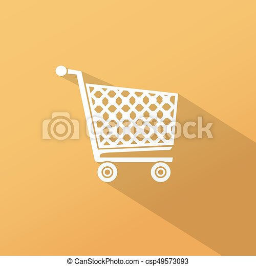 Shopping cart icon - csp49573093