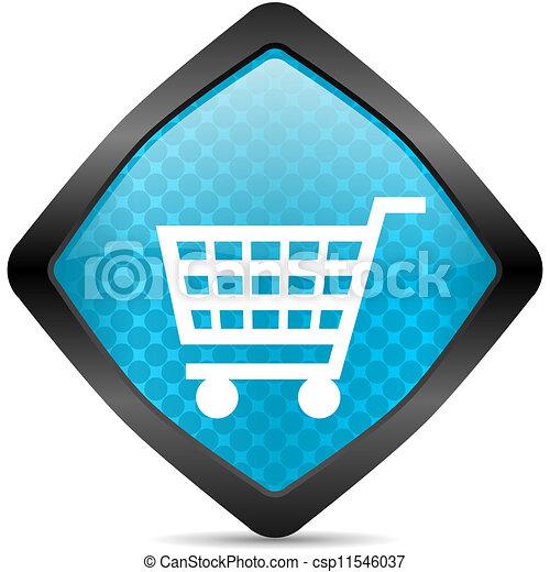 shopping cart icon - csp11546037