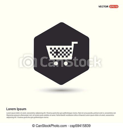 Shopping Cart icon - csp59415839