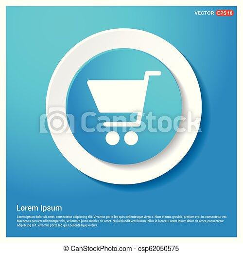 Shopping cart icon - csp62050575