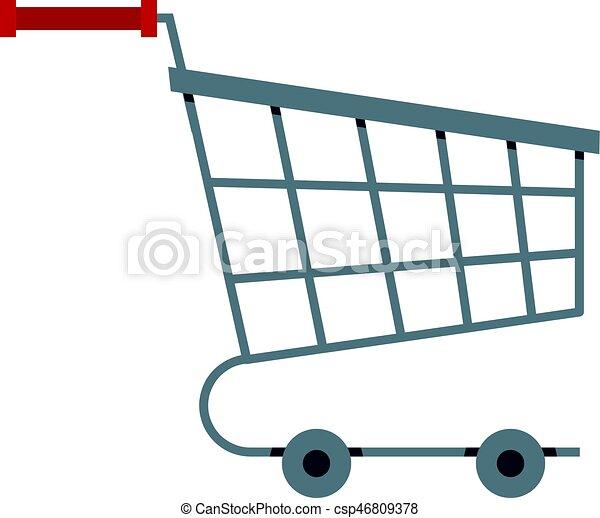 Shopping cart icon isolated - csp46809378