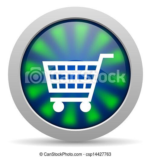 shopping cart icon - csp14427763