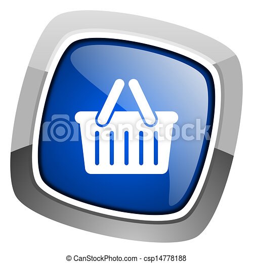 shopping cart icon - csp14778188