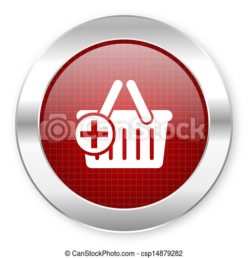 shopping cart icon - csp14879282