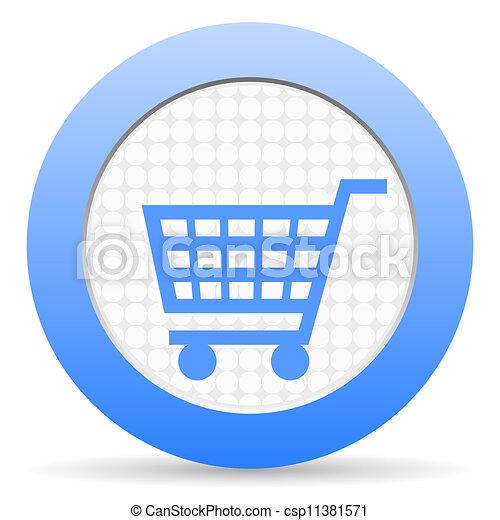 shopping cart icon - csp11381571