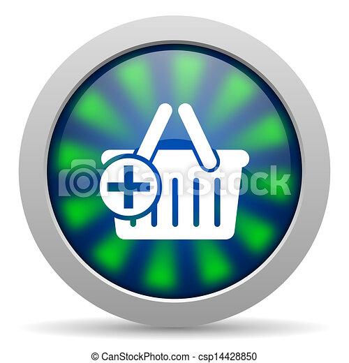 shopping cart icon - csp14428850
