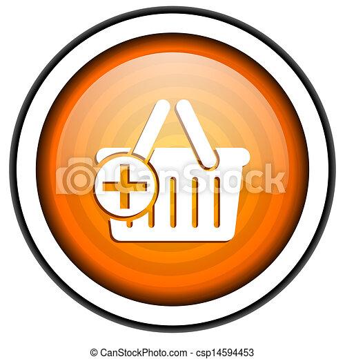 shopping cart icon - csp14594453