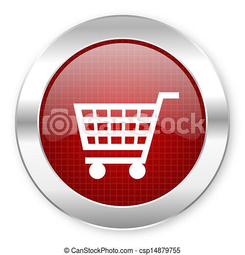 shopping cart icon - csp14879755