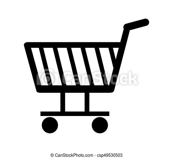 shopping cart icon - csp49530503