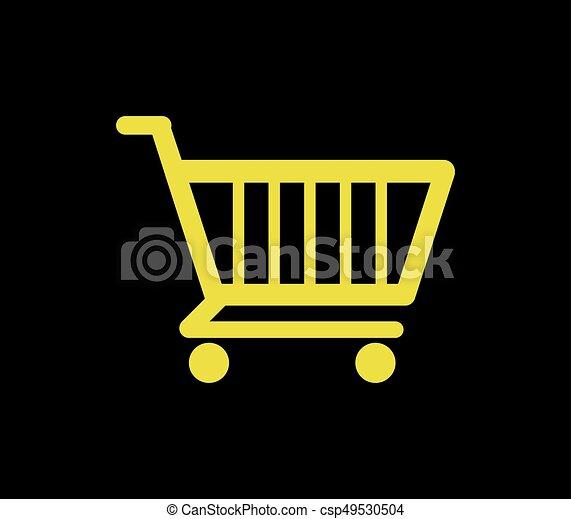 shopping cart icon - csp49530504