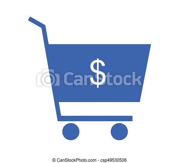 shopping cart icon - csp49530506