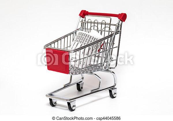 Shopping cart - csp44045586