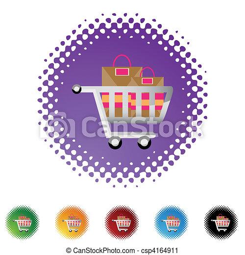 Shopping Cart - csp4164911