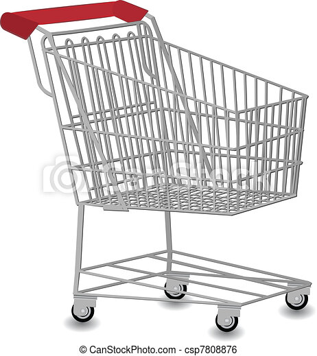 Shopping cart vector illustration clip art vector - Search ...