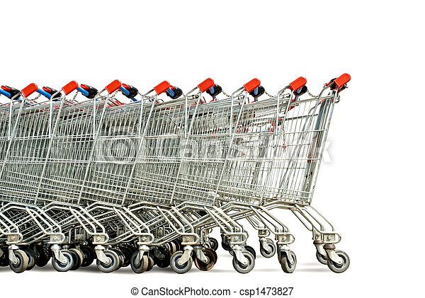 shopping carts - csp1473827