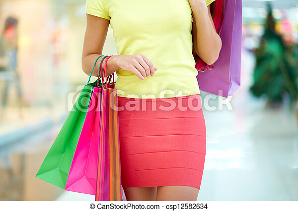 Shopping day - csp12582634