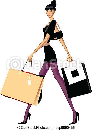 e5061a3fa0f8 Shopping donna. Shopping, là, capriccio, pochi, portante, così, lei ...