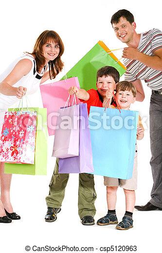 shopping, gioioso - csp5120963