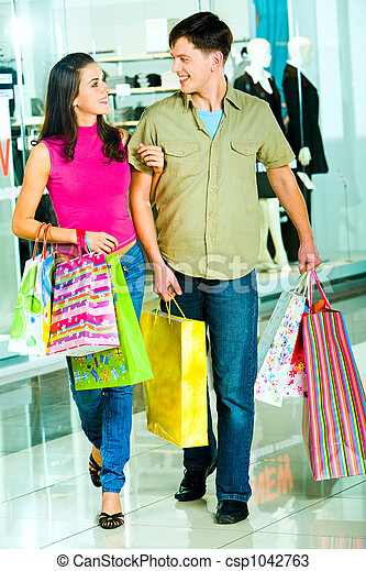 shopping, insieme - csp1042763