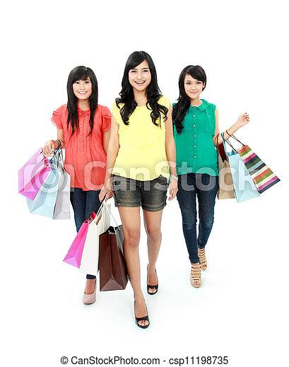 shopping, insieme - csp11198735