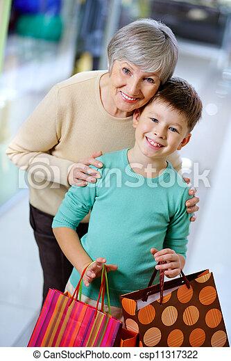shopping, insieme - csp11317322