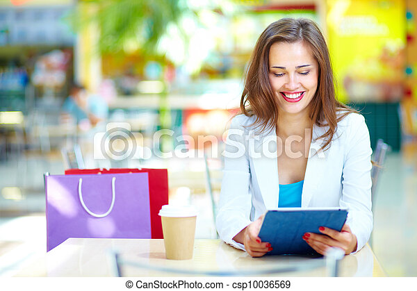 Shopping leisure - csp10036569