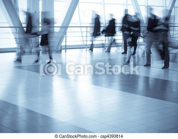 Shopping mall  - csp4393814