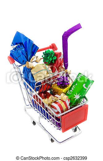 shopping, natale - csp2632399