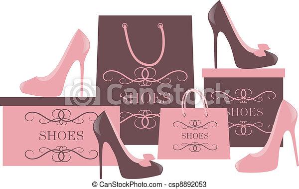 shopping, scarpa - csp8892053