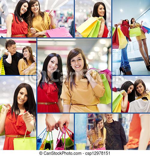 Shopping time - csp12978151
