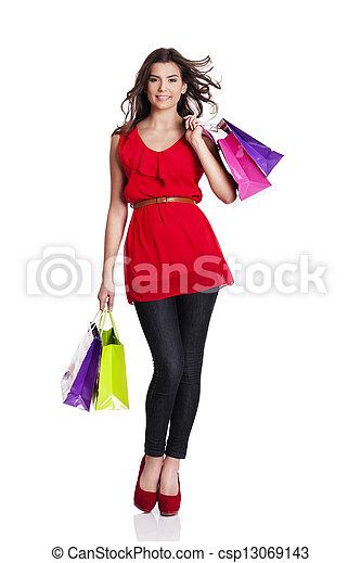 Shopping time! - csp13069143