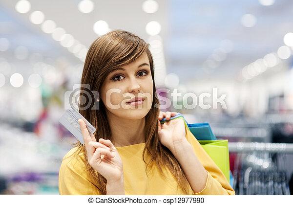 Shopping time - csp12977990