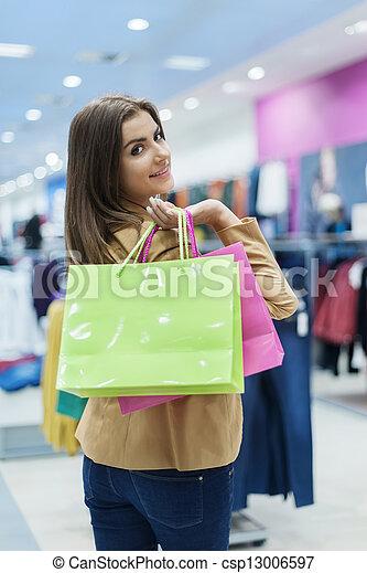 Shopping time - csp13006597