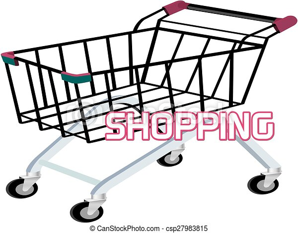 shopping trolley clipart search illustration drawings and vector rh canstockphoto com baby trolley clipart shopping trolley clipart free