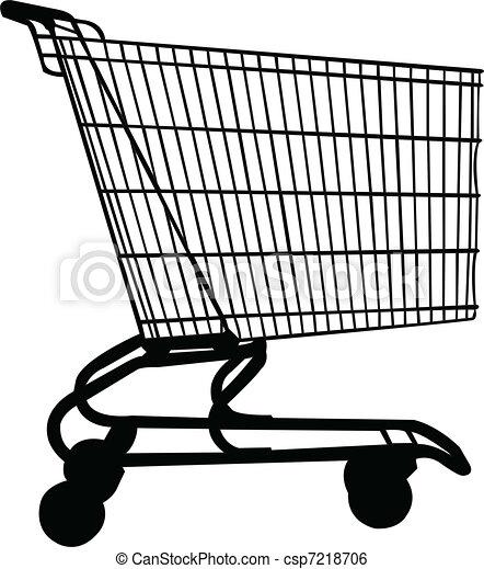 shopping, vagão, vetorial, - - csp7218706