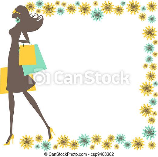 Shopping Woman - csp9468362