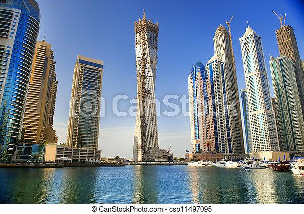 Shoreline gratte ciel ville moderne persan d coup for Ville super moderne