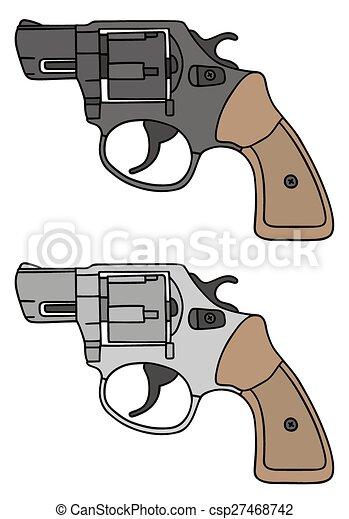 Short revolvers - csp27468742
