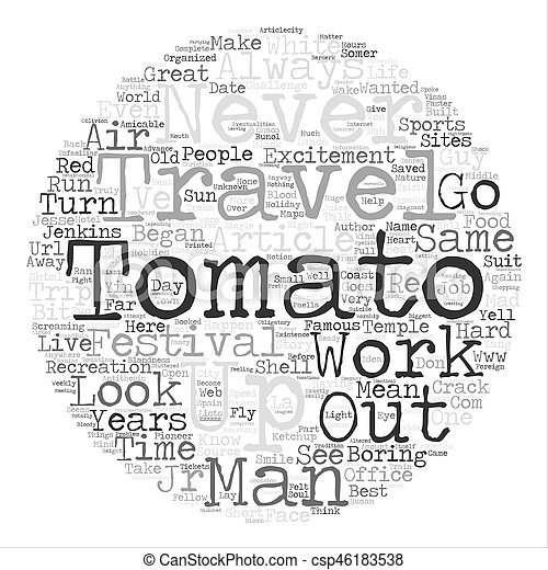 Short Story Take a Trip To The Temple Of The Great Tomato text background  word cloud concept