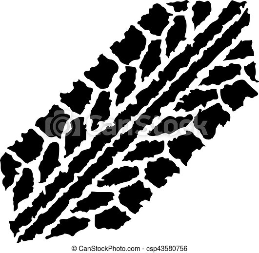 short wheel track tire track clipart vector search illustration rh canstockphoto com bike tire track vector tire track vector free download