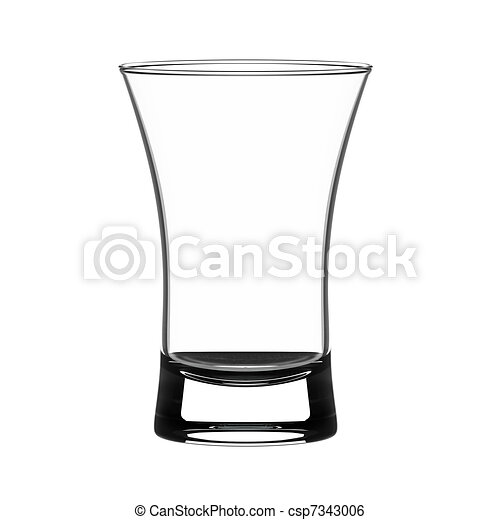 shot glass empty shot glass isolated on white rh canstockphoto com shot glasses clipart animation shot glass clip art silhouette