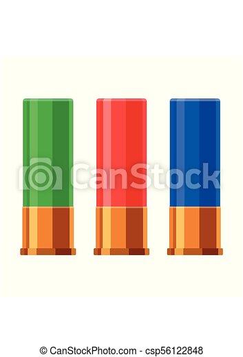 Shotgun Shell Stock Illustration Images 427 Shotgun Shell