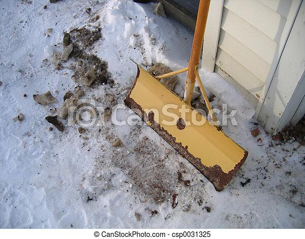 Shovel Still Life - csp0031325
