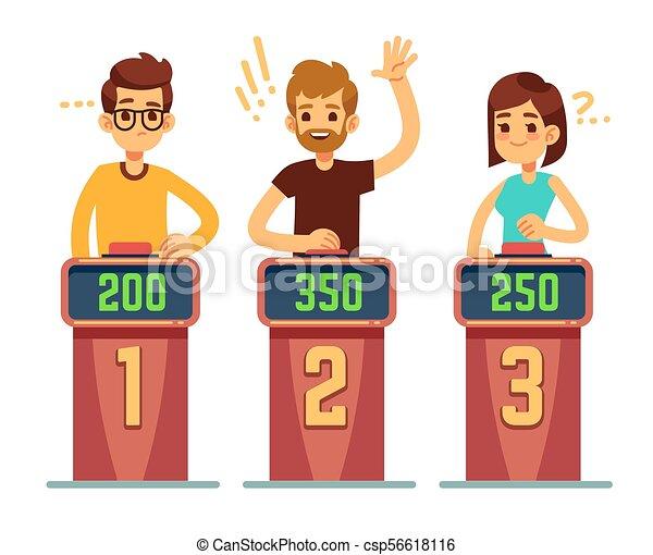 Show Begriff Leute Rätsel Antworten Drücken Konkurrenz Quiz