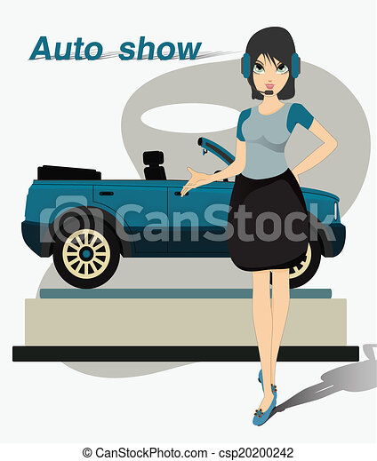 show., joli, moteur - csp20200242